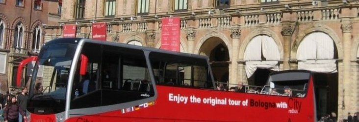 Tour sul city red bus   Art Hotel Novecento Bologna, Italia
